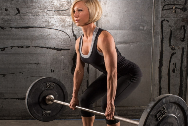 Do some proper workout with barbell