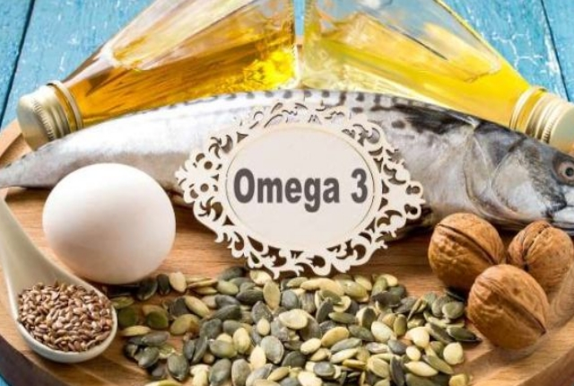 Include omega fatty acids in your diet