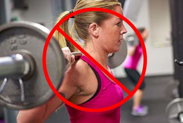Avoid Lifting Immense Weight