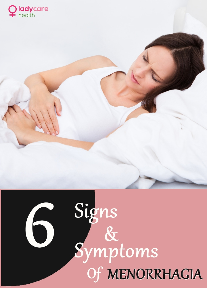 Signs And Symptoms Of Menorrhagia