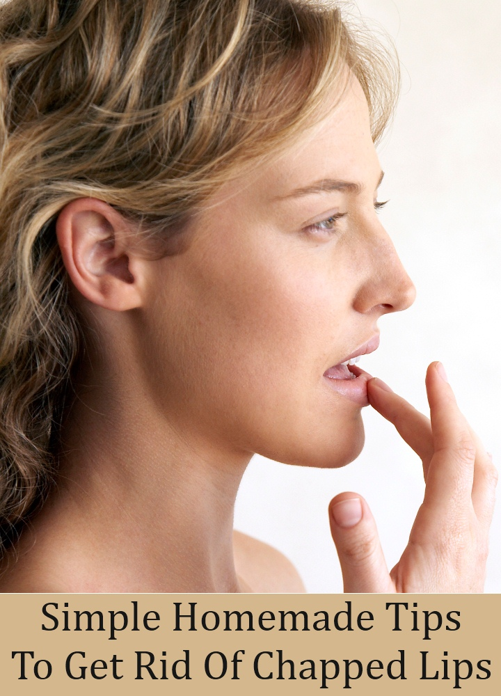 Simple Homemade Tips To Get Rid Of Chapped Lips