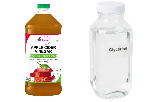 Apple Cider Vinegar And Distilled Glycerin Liquid Pack