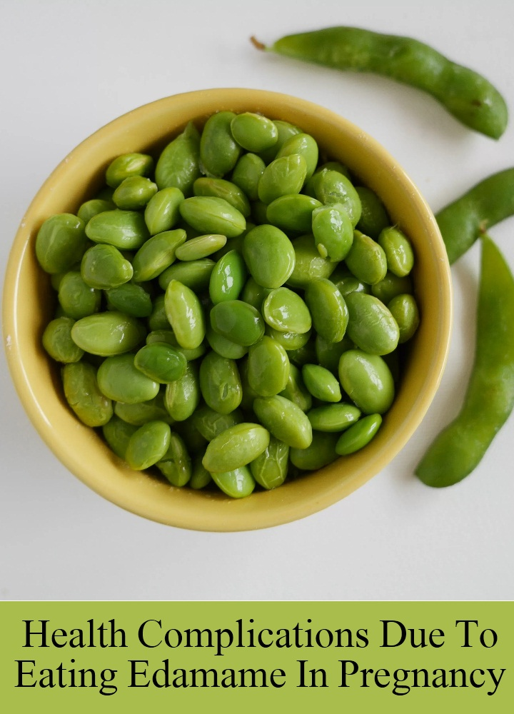 Health Complications Due To Eating Edamame In Pregnancy