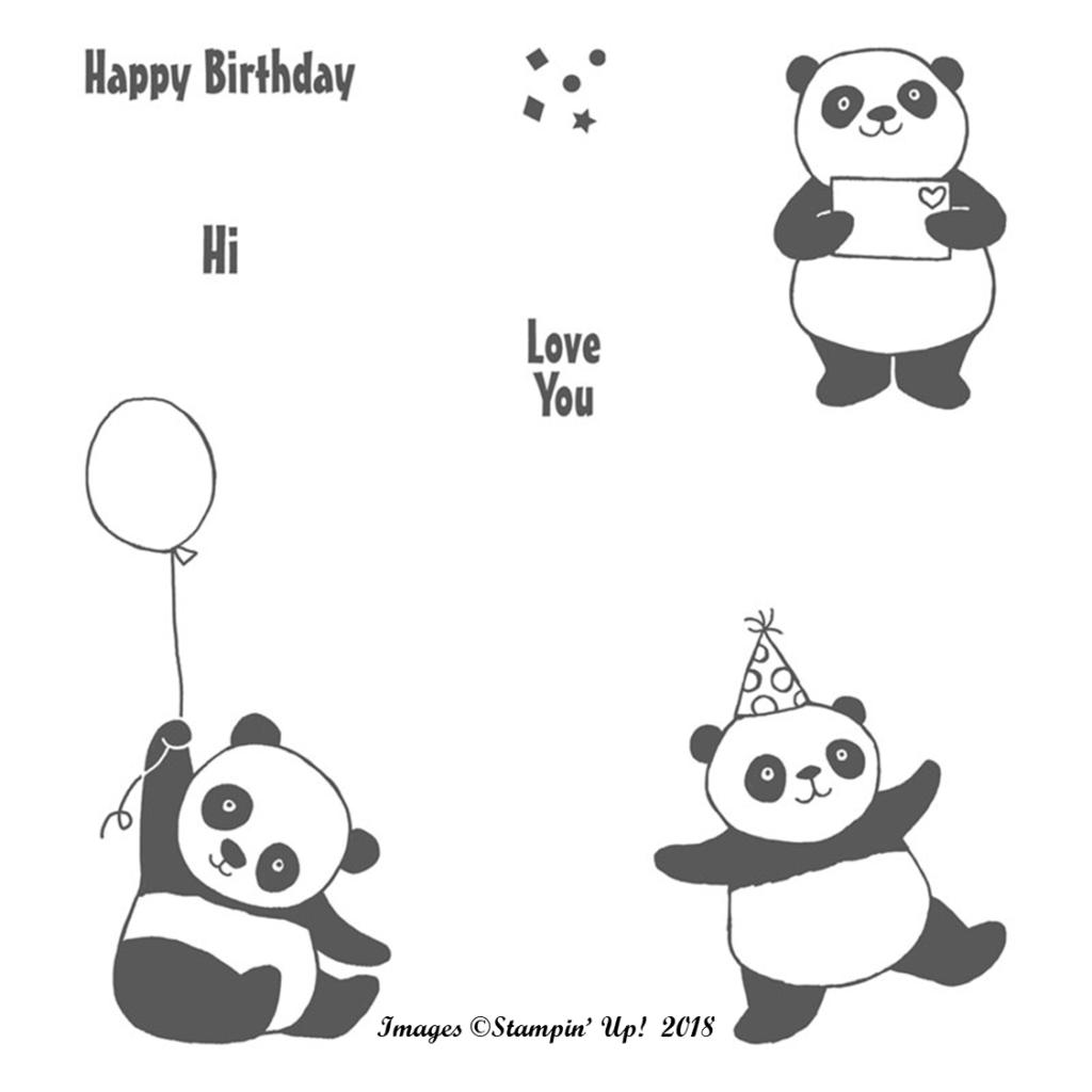 Cute Panda Lolly Box