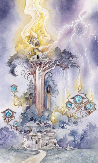 Relationship Energy for Tuesday October 2, 2017 - The Tower