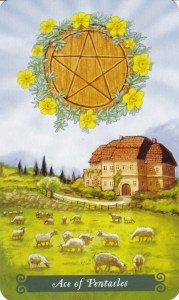 Relationship Energy - Monday October 2, 2017 - Ace of Pentacles
