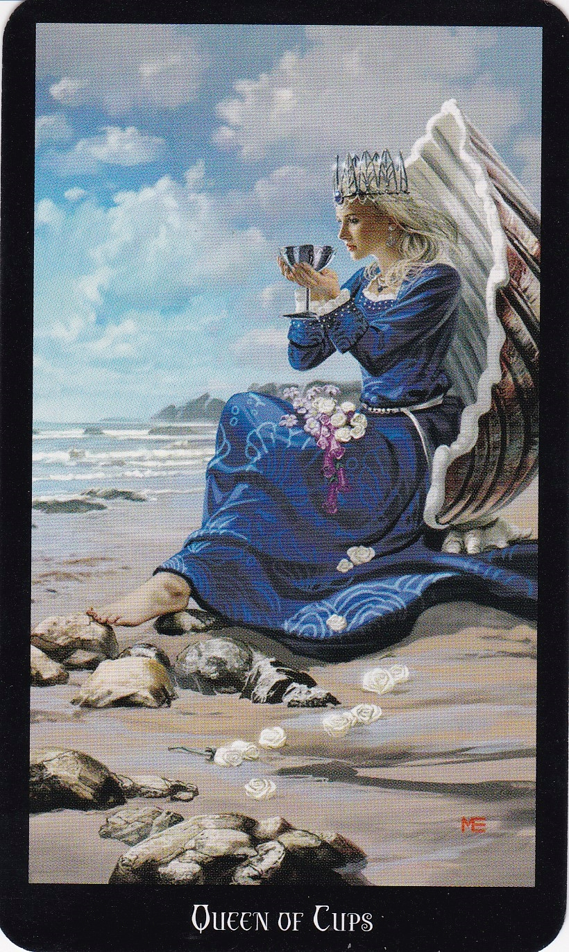 Relationship Energy for Monday October 9, 2017 - Queen of Cups