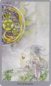 Relationship Energy for Friday October 13, 2017 - 5 of Pentacles