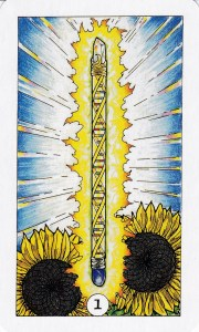 Relationship Energy for Tuesday October 17, 2017 - The Ace of Wands