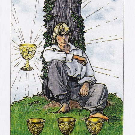 Relationship Energy for Friday October 20, 2017 - 4 of Cups
