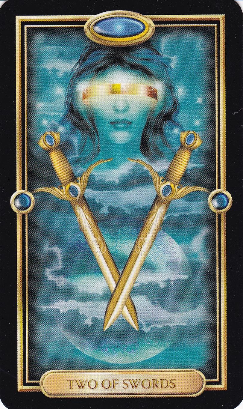 Relationship Energy - Monday December 4, 2017 - 2 of Swords