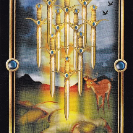 Relationship Energy for Wednesday December 13, 2017 - 10 of Swords
