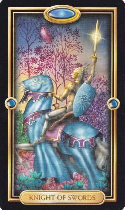 Relationship Energy - Thursday December 21, 2017 - Knight of Swords