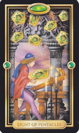 Relationship Energy - Friday December 29, 2017 - 8 of Pentacles