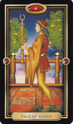 Relationship Energy - Tuesday January 2, 2018 - Page of Wands
