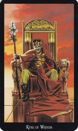 Relationship Energy - Friday January 5, 2018 - King of Wands