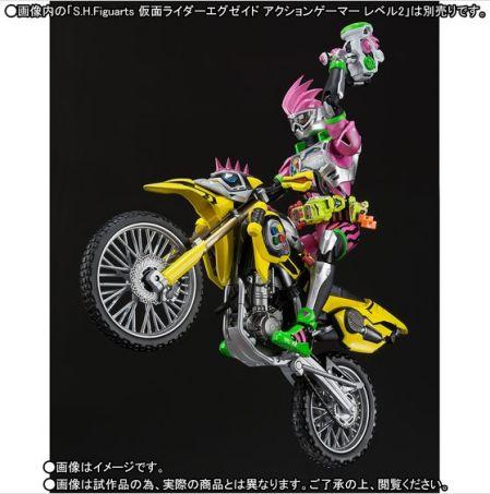 S.H.Figuarts 仮面ライダーレーザー バイクゲーマー レベル2