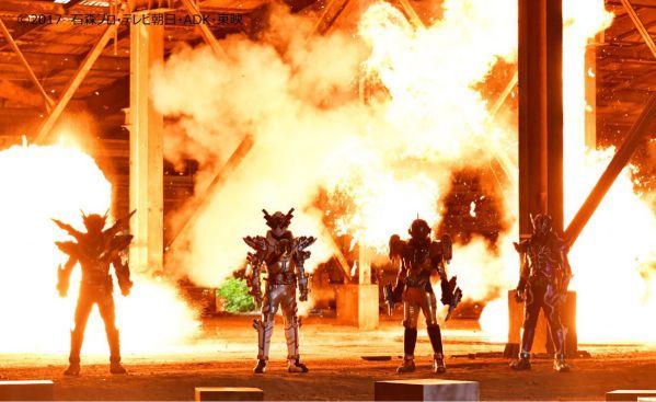 『仮面ライダービルド』44話のあらすじ。4ライダーが決意の同時変身!サブタイトルは「エボルトの最期」!