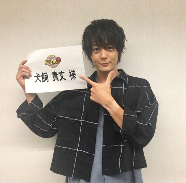 『仮面ライダービルド』犬飼貴丈さんと勝村政信さんが8月8日「くりぃむクイズ ミラクル9」に出演