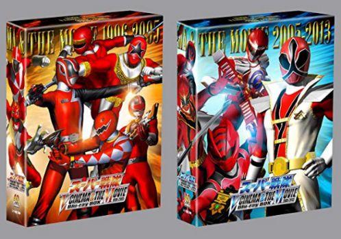 スーパー戦隊 V CINEMA&THE MOVIE Blu-ray