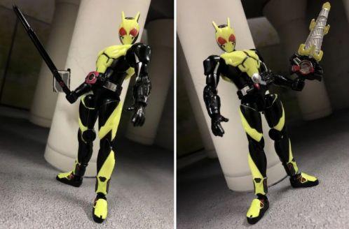 「装動 仮面ライダーゼロワン AI 01」のゼロワンはディケイドライバーやビルドドライバー対応!ディケイドゼロワンなど再現可能