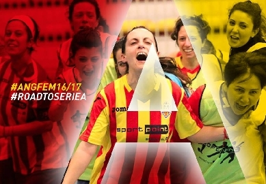 Angelana calcio a cinque femminile in A per lasciare il segno