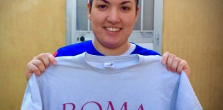 Melania Desideri alla Roma Calcio Femminile