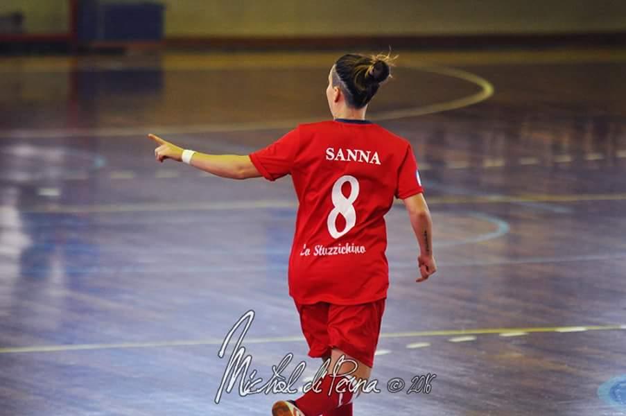 Martina Sanna saluta la Vis Fondi su Facebook
