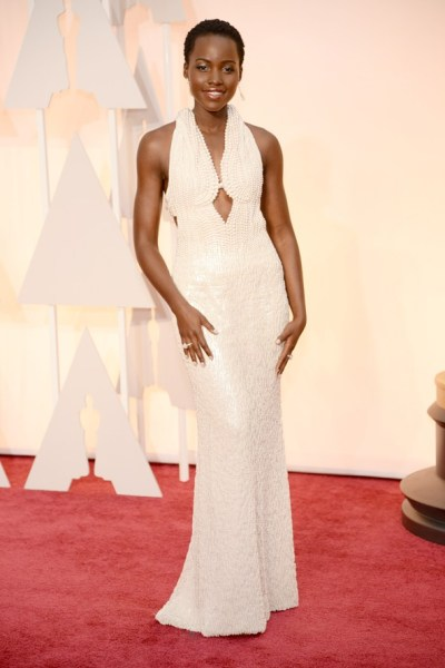 Lupita Nyongo Oscar Dress, Lady Goldapple