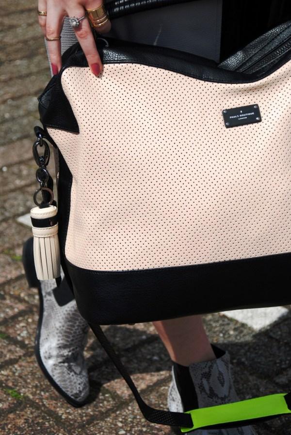 Paul's Boutique weekend bag    weekend away with Edie