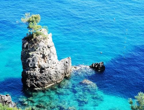 Greek island Corfu