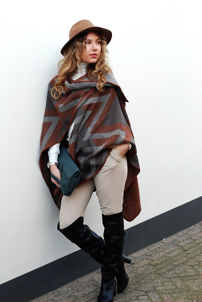 Autumn Winter Poncho