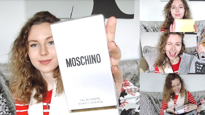 Unboxing Goodiebag Moschino Event