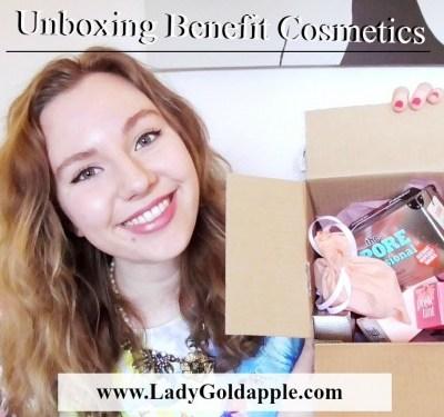 Unboxing Benefit Cosmetics
