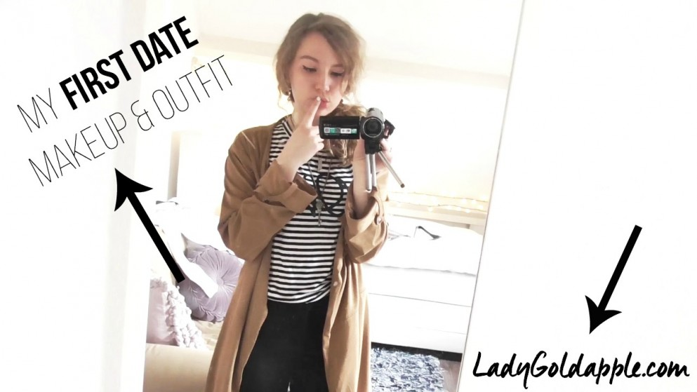 my first date makeup and outfit