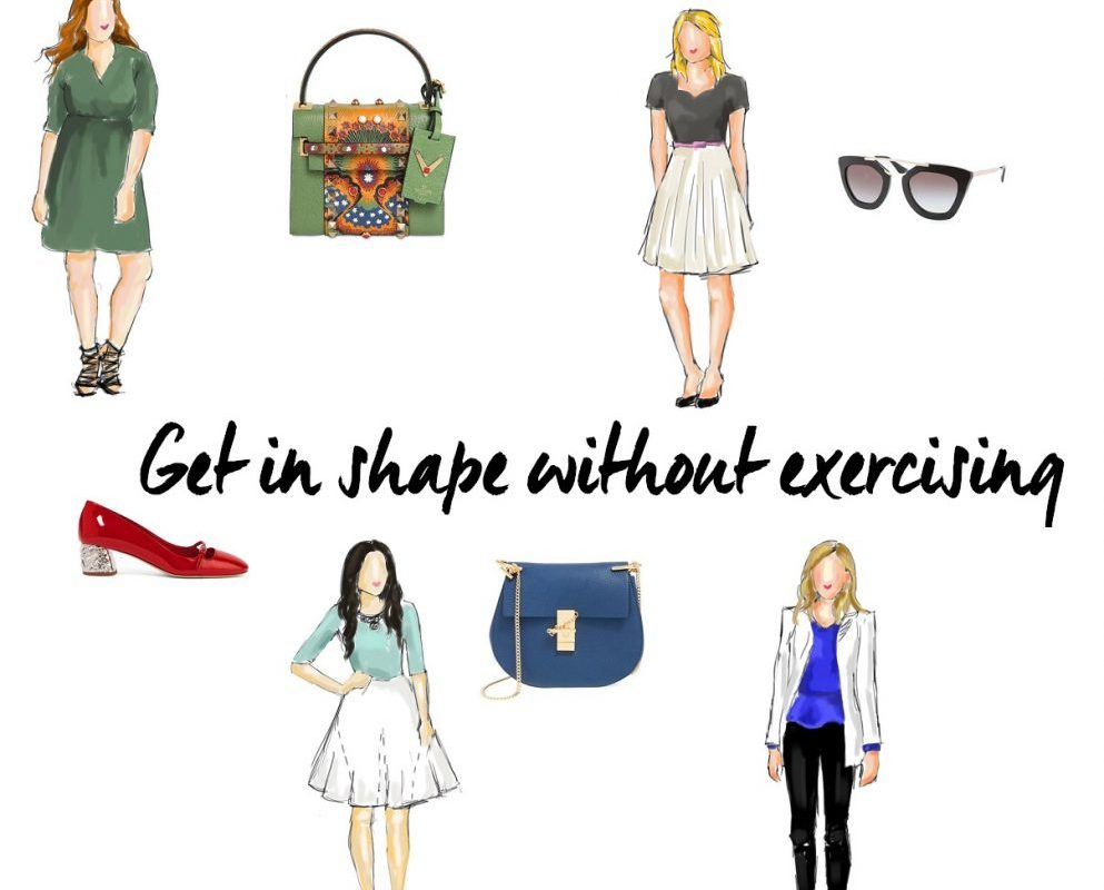 get in shape without exercising