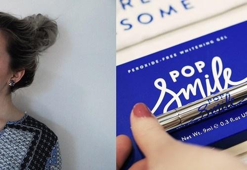 Pop Smile Review - Teeth Whitening Kit