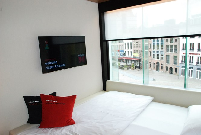 My stay in CitizenM Rotterdam