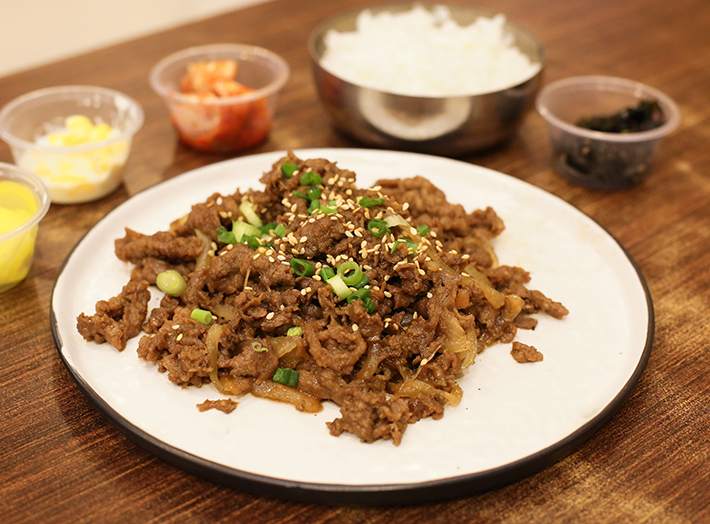 Ajumma's Beef Bulgogi