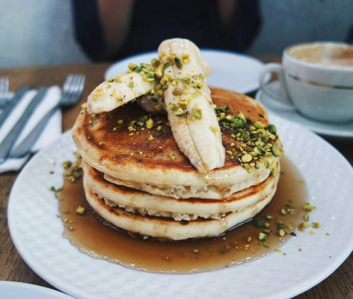 The Bravery Cafe Pancake Stack