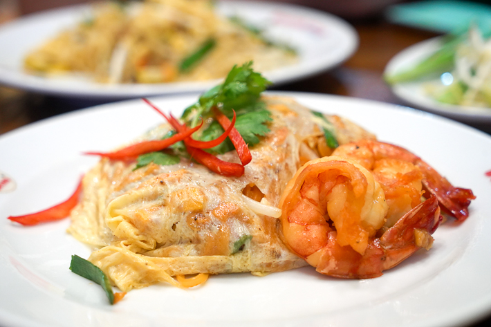 THIPSAMAI EGG WRAP PAD THAI
