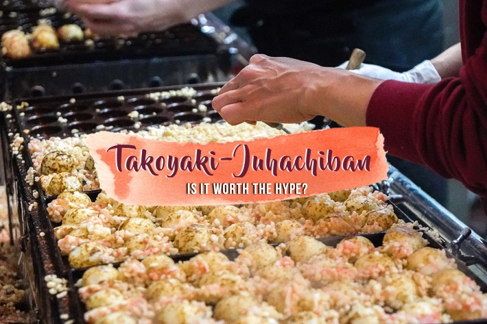 TAKOYAKI JUHAICHIBAN COVER PHOTO