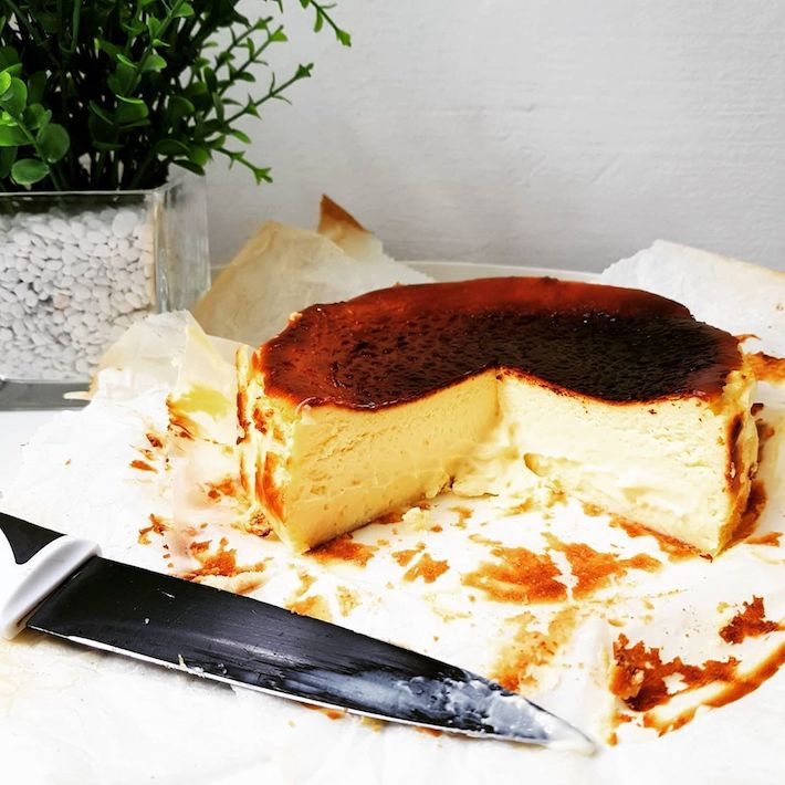 MyDailyBread Burnt Cheesecake from @mydaily.bread
