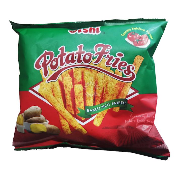 Snacks Oishi Potato Fries