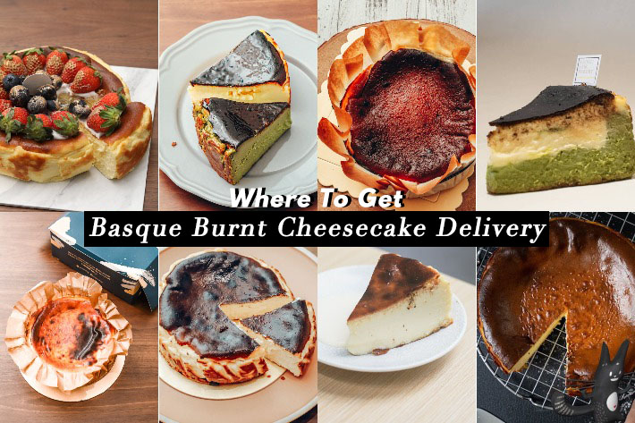 Where To Get Basque Burnt Cheesecake In Singapore Cover Photo