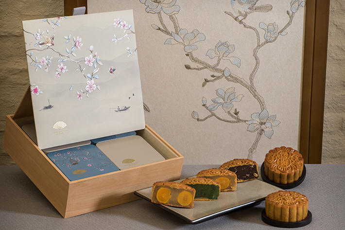 Mandarin Oriental Singapore Mooncake_Pearl White_Four Treasures