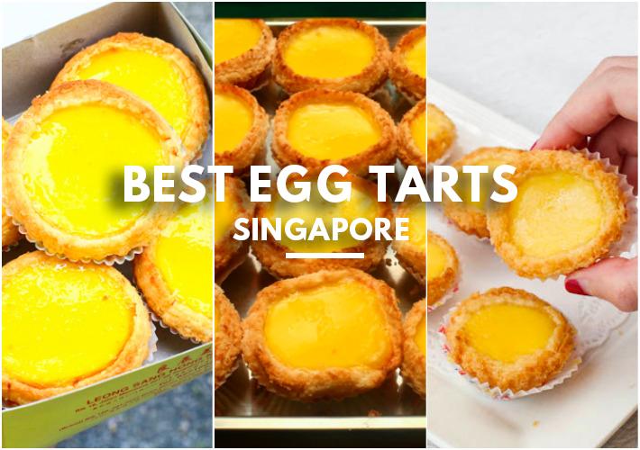 Best Egg Tarts Singapore