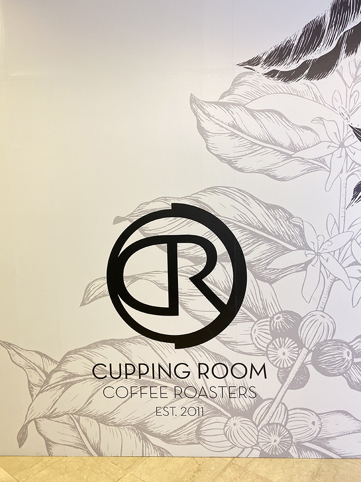 Cupping Room Singapore Hoarding