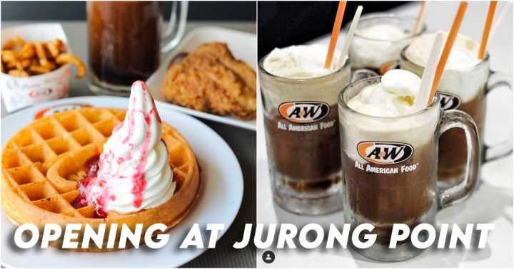 A&W Singapore Jurong Point