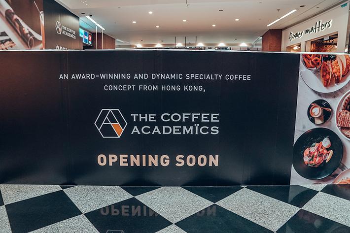 The Coffee Academics Millenia Walk Hoarding